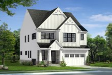 House Plan Design - Farmhouse Exterior - Front Elevation Plan #1057-28