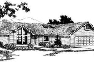 Traditional Exterior - Front Elevation Plan #303-436