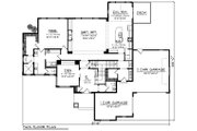 Craftsman Style House Plan - 4 Beds 3.5 Baths 3851 Sq/Ft Plan #70-1291 Floor Plan - Main Floor Plan