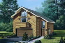 Contemporary Exterior - Front Elevation Plan #57-149
