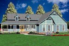 House Plan Design - Farmhouse Exterior - Front Elevation Plan #36-150