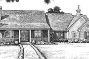Farmhouse Style House Plan - 3 Beds 2.5 Baths 1945 Sq/Ft Plan #310-607 Exterior - Front Elevation