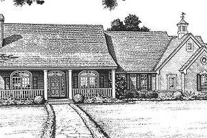Farmhouse Exterior - Front Elevation Plan #310-607
