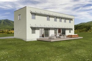 House Design - small modern house