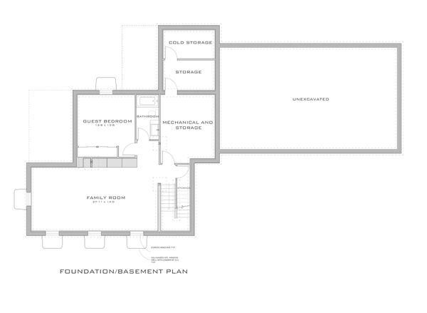 Modern Floor Plan - Other Floor Plan Plan #909-1