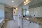 Country Style House Plan - 4 Beds 2 Baths 2053 Sq/Ft Plan #430-173 Interior - Master Bathroom
