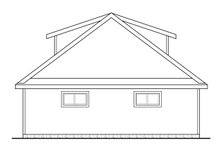 Home Plan - Craftsman Exterior - Other Elevation Plan #124-1050
