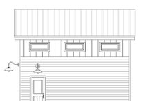 Dream House Plan - Contemporary Exterior - Other Elevation Plan #932-193