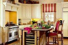 Colonial Interior - Kitchen Plan #137-230