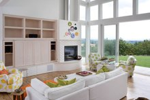 Dream House Plan - Modern Interior - Family Room Plan #48-468
