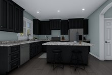 Dream House Plan - Craftsman Interior - Kitchen Plan #1060-66
