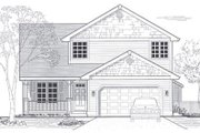 Bungalow Style House Plan - 4 Beds 2.5 Baths 1845 Sq/Ft Plan #53-193 Exterior - Front Elevation