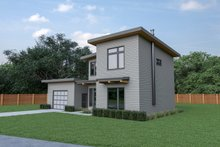 Dream House Plan - Contemporary Exterior - Other Elevation Plan #1070-66