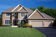 Traditional Style House Plan - 3 Beds 2.5 Baths 2574 Sq/Ft Plan #51-416 Exterior - Front Elevation