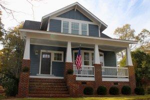 Craftsman Exterior - Front Elevation Plan #461-65