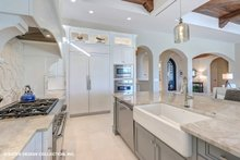 Dream House Plan - Mediterranean Interior - Kitchen Plan #930-511