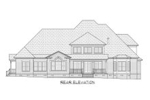 Architectural House Design - Traditional Exterior - Rear Elevation Plan #1054-83