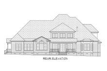 House Plan Design - Traditional Exterior - Rear Elevation Plan #1054-83