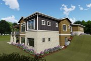 Farmhouse Style House Plan - 4 Beds 3 Baths 2690 Sq/Ft Plan #1069-20 Exterior - Other Elevation