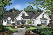 Architectural House Design - Farmhouse Exterior - Front Elevation Plan #929-1070