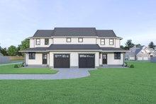 House Plan Design - Farmhouse Exterior - Rear Elevation Plan #1070-96