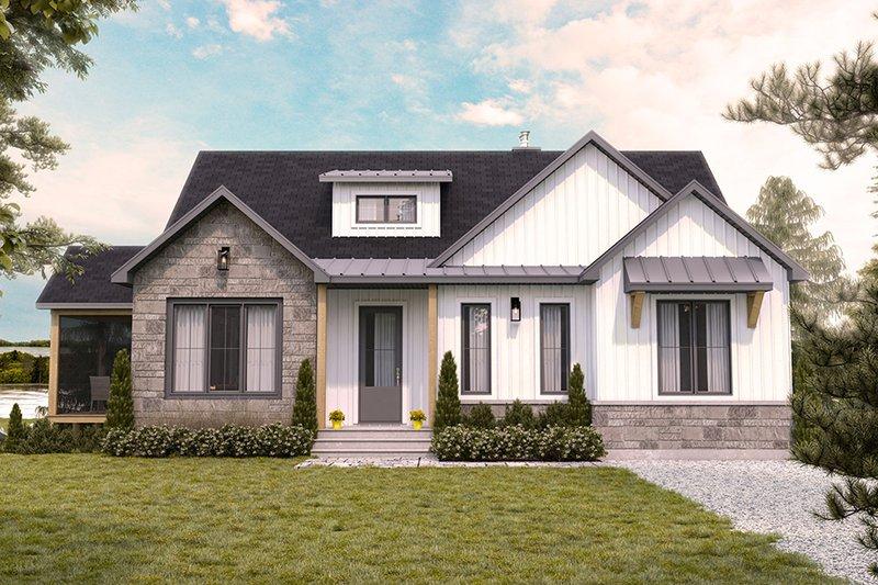 Farmhouse Style House Plan - 4 Beds 2.5 Baths 2886 Sq/Ft Plan #23-2753