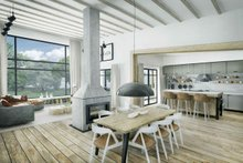 Home Plan - Modern Interior - Dining Room Plan #924-15