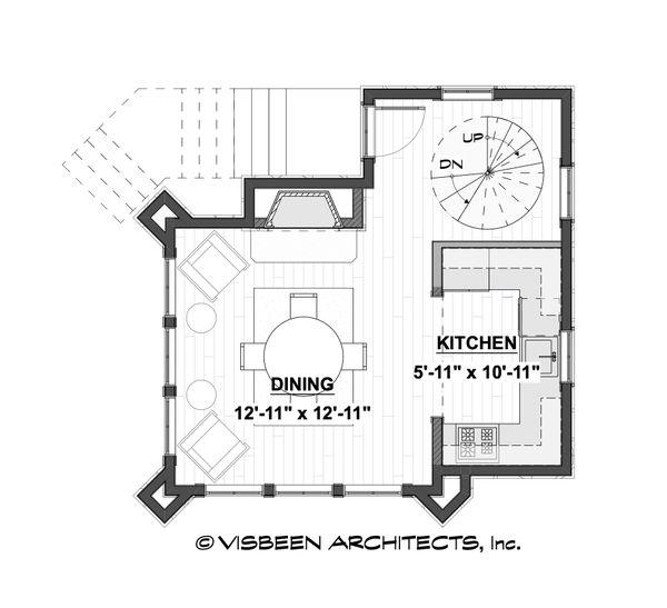 Home Plan - Cabin Floor Plan - Main Floor Plan #928-362