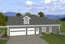 Dream House Plan - Craftsman Exterior - Other Elevation Plan #56-568