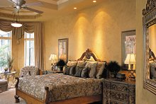 Mediterranean Interior - Master Bedroom Plan #930-291