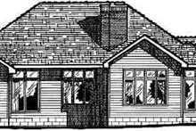 Home Plan - Traditional Exterior - Rear Elevation Plan #20-143