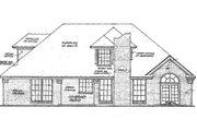 European Style House Plan - 4 Beds 2.5 Baths 2175 Sq/Ft Plan #310-201 Exterior - Rear Elevation