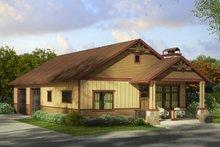 Craftsman Exterior - Front Elevation Plan #124-989