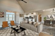 Ranch Style House Plan - 3 Beds 2 Baths 1818 Sq/Ft Plan #929-1002 Interior - Family Room