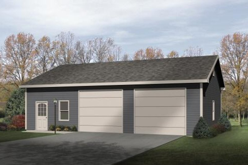 House Plan Design - Traditional Exterior - Front Elevation Plan #22-406
