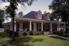 Home Plan Design - Southern Exterior - Front Elevation Plan #37-124