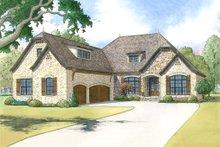 Dream House Plan - European Exterior - Front Elevation Plan #923-8