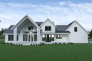 Farmhouse Style House Plan - 4 Beds 3.5 Baths 3075 Sq/Ft Plan #1070-55 Exterior - Rear Elevation