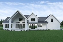 Architectural House Design - Farmhouse Exterior - Rear Elevation Plan #1070-55