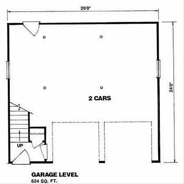 Country Floor Plan - Main Floor Plan #116-133