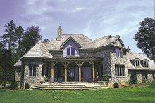 Dream House Plan - European Exterior - Rear Elevation Plan #453-42