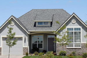 Cottage style home, front elevation