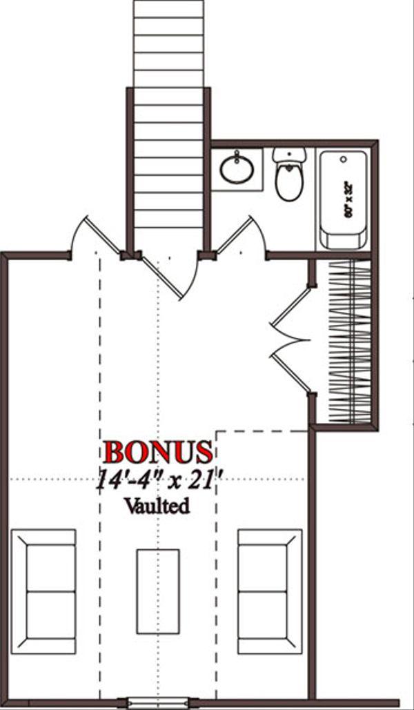 Traditional Floor Plan - Other Floor Plan Plan #63-223