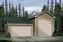 Home Plan - Traditional Exterior - Front Elevation Plan #22-459