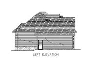 European Style House Plan - 2 Beds 1 Baths 1329 Sq/Ft Plan #138-312 Exterior - Other Elevation