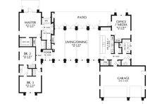 Ranch Floor Plan - Main Floor Plan Plan #48-933