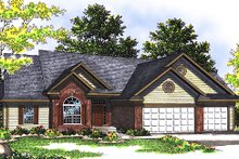 Dream House Plan - Traditional Exterior - Front Elevation Plan #70-237