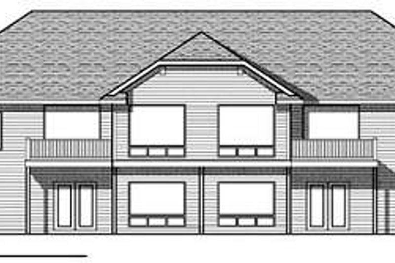 Ranch Exterior - Rear Elevation Plan #70-940 - Houseplans.com