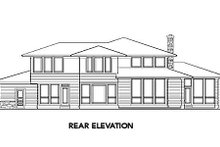 Dream House Plan - Mediterranean Exterior - Rear Elevation Plan #48-146