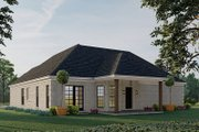 Traditional Style House Plan - 3 Beds 2 Baths 1598 Sq/Ft Plan #923-193 Exterior - Rear Elevation